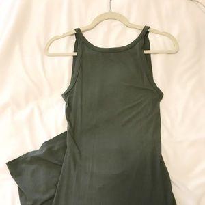 Tight over the knee midi dress!